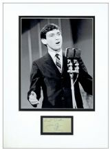 Gene Pitney Autograph Signed Display